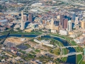 Aerial Photography of Columbus, Ohio