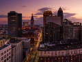 A Drone Panorama of Cleveland, Ohio