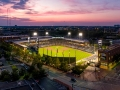 A Drone Photo of Huntington Park